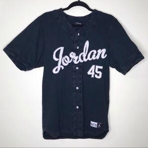 newest collection c085d b0d84 Vintage Michael Jordan 45 Baseball Jersey D-138-2